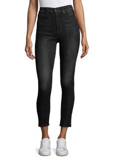 Rag & Bone Cropped Skinny-Fit Jeans