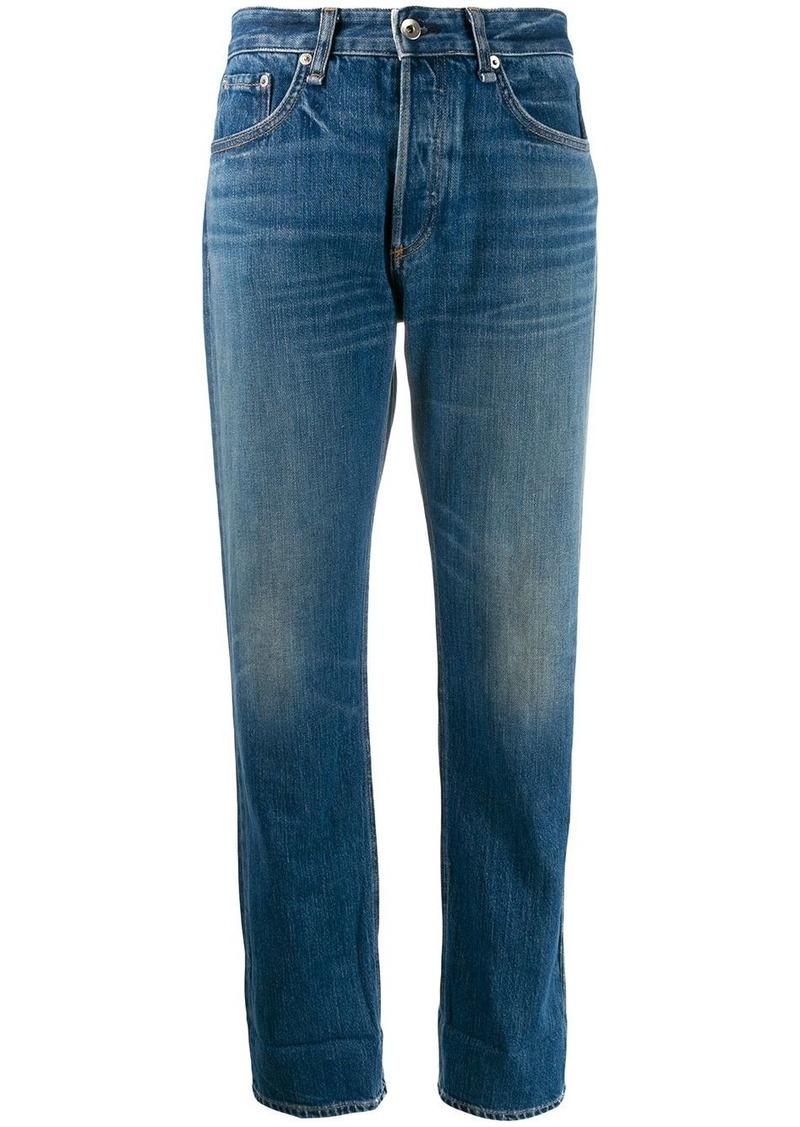 rag & bone cropped straight leg jeans