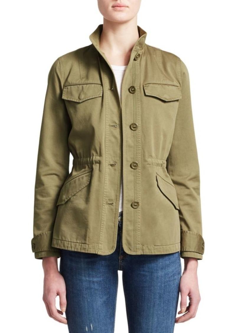 rag & bone Daniella Washed Field Jacket