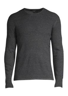rag & bone Davis Extrra Fine Merino Wool & Linen-Blend Sweater