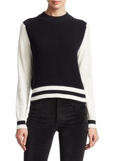 Rag & Bone Dean Wool Colorblock Sweater
