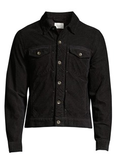 rag & bone Definitive Cropped Denim Jacket