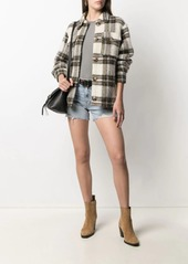 rag & bone denim fitted shorts