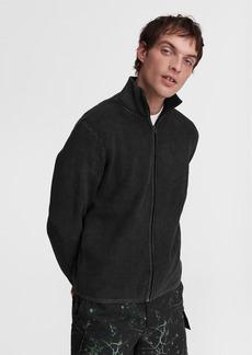 rag & bone Dexter Zip Through Cotton Sweater