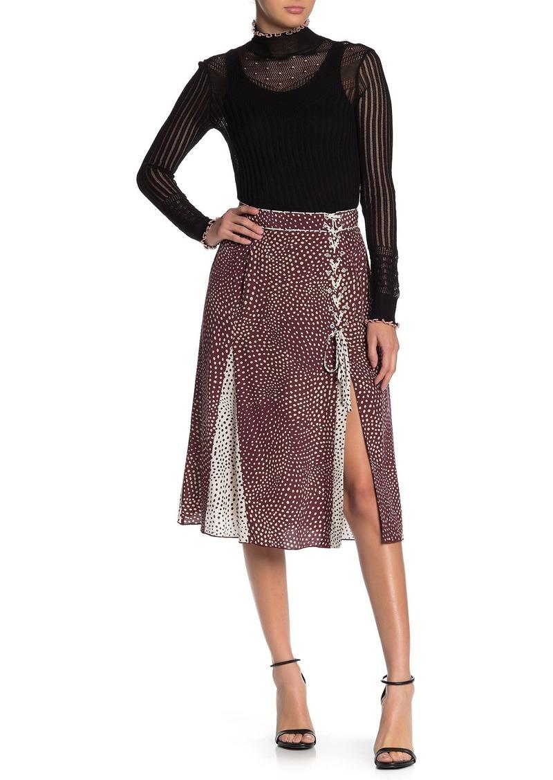 rag & bone Dirdre Polka Dot Skirt