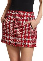 rag & bone Disney's Cruella Tweed Mini Skirt