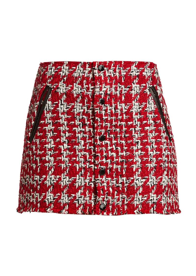 Disney's Cruella Tweed Mini Skirt