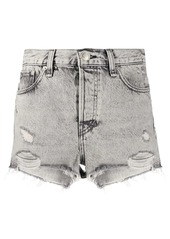 rag & bone distressed denim shorts