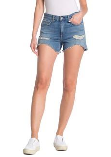 rag & bone Distressed Low-Rise Shorts