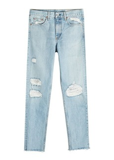Rag & Bone Distressed Slim Jeans