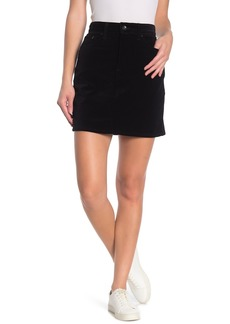 Rag & Bone Dive Corduory Mini Skirt