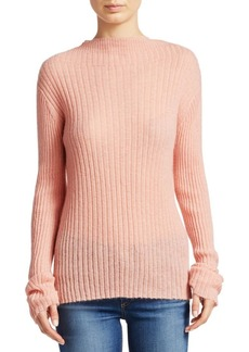 Rag & Bone Donna Mohair Blend Turtleneck Sweater