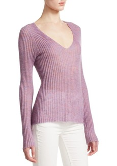 rag & bone Donna Wool-Blend V-Neck