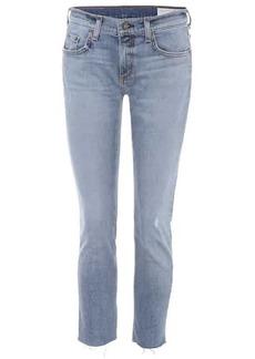 rag & bone Dre cropped slim boyfriend jeans