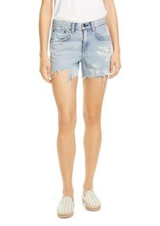 rag & bone Dre Distressed Cutoff Shorts (Dara)