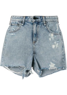 rag & bone Dre distressed denim shorts