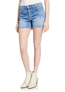 rag & bone Dre Low-Rise Denim Cutoff Shorts