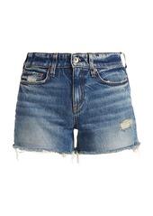 rag & bone Dre Low-Rise Denim Shorts