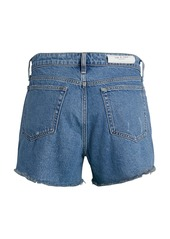 rag & bone Dre Low-Rise Distressed Denim Shorts
