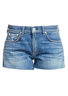 rag & bone Dre Raw Hem Jean Shorts