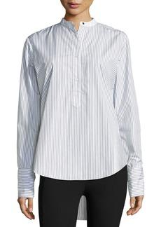 Rag & Bone Dylan Long-Sleeve Striped Poplin Shirt
