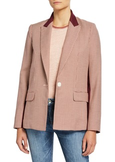 rag & bone Elizabeth Single-Button Blazer