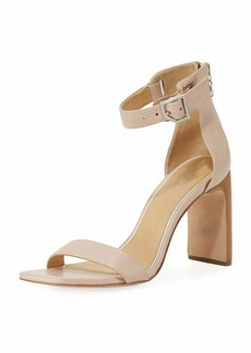 Rag & Bone Ellis Leather Ankle-Wrap Sandal