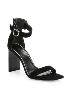 Rag & Bone Ellis Suede Ankle-Strap Sandals