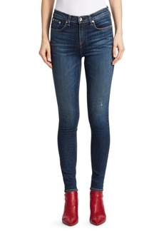rag & bone Elton High-Rise Skinny Medium Wash Jeans