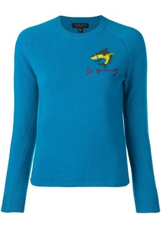 Rag & Bone embroidered detail sweater