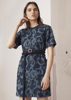 ESMOND LASER CUT DRESS