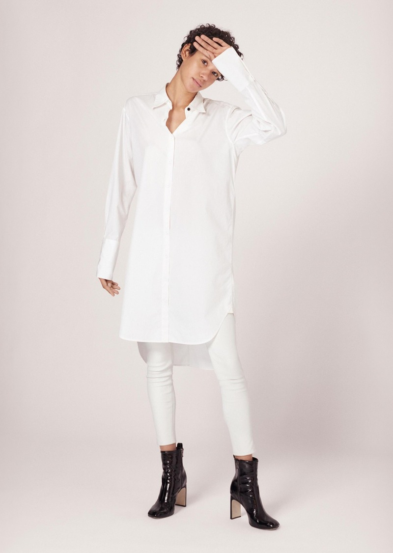 Rag & Bone ESSEX POPLIN SHIRT dreSS