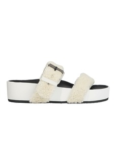 Rag & Bone Evin Shearling Platform Sandals