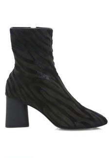 rag & bone Fei Zebra-Stripe Calf Hair Ankle Boots