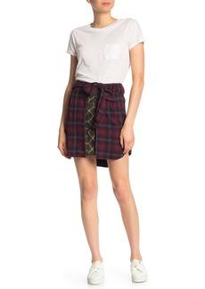 rag & bone Felicity Plaid Skirt