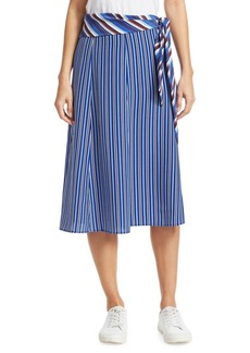 Rag & Bone Felix Silk Striped Skirt