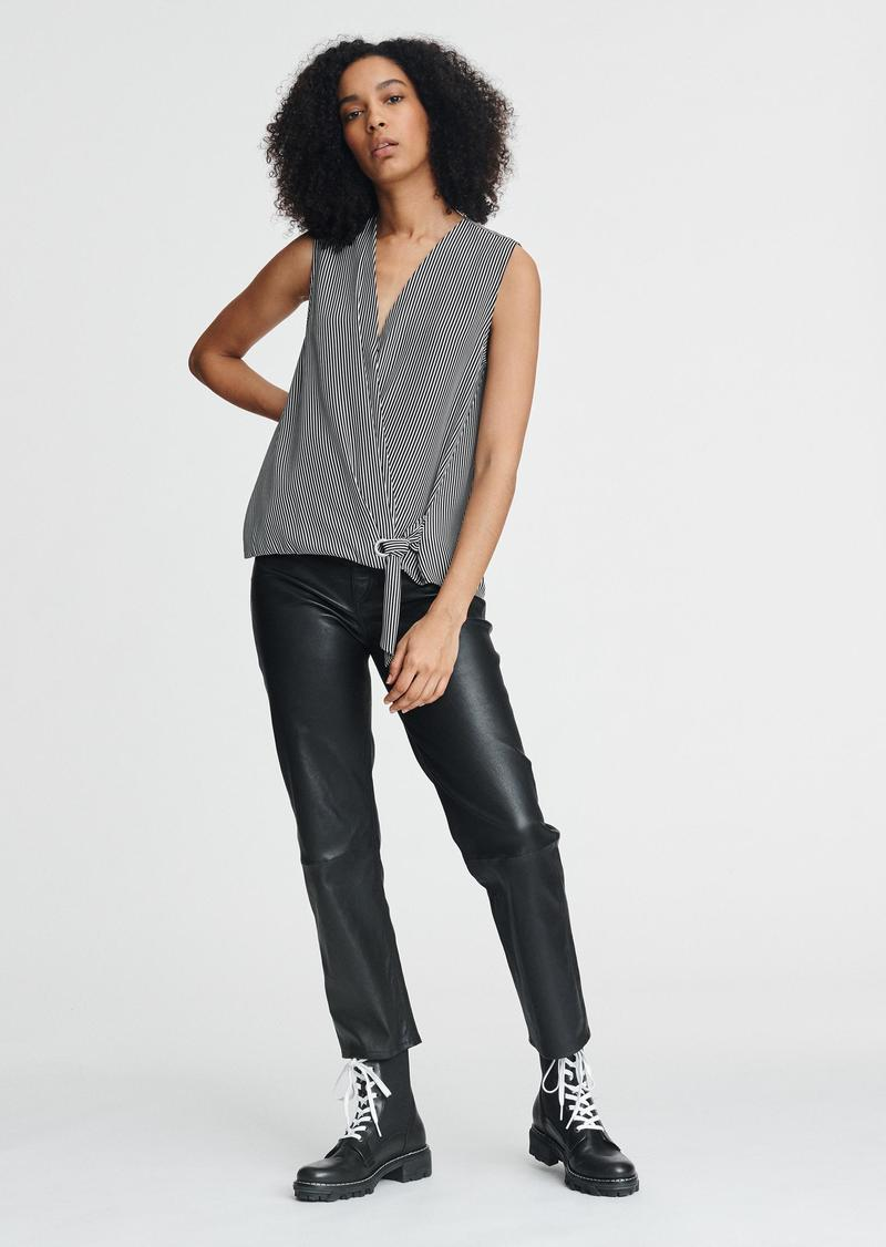 rag & bone FELIX SLEEVELESS POPOVER
