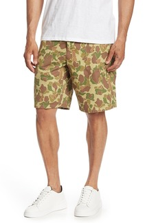 rag & bone Field Camo Print Shorts