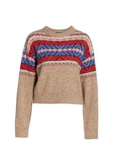rag & bone Finlay Knit Crewneck Sweater
