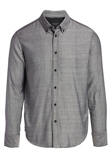 rag & bone Fit 2 Tomlin Herringbone Shirt