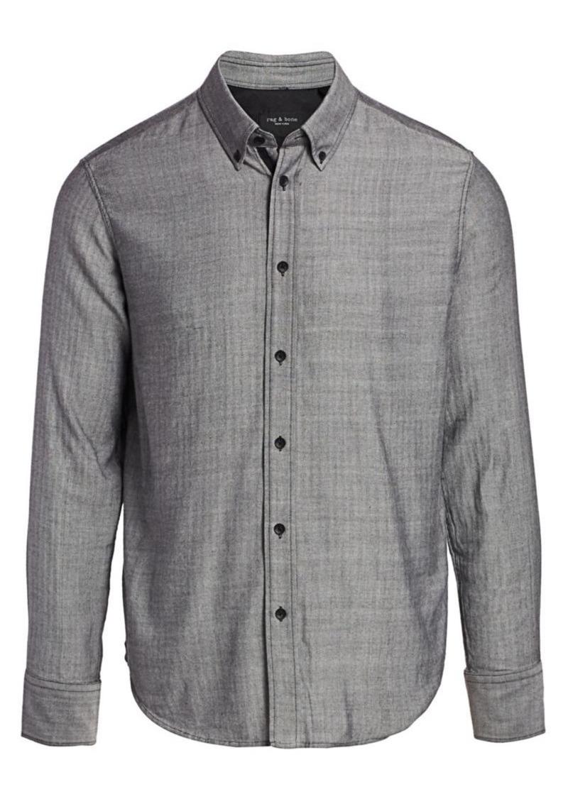 rag & bone Fit 2 Tomlin Herringbone Shirt