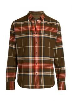 rag & bone Fit 2 Tomlin Plaid Cotton Flannel Shirt