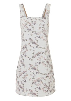 Rag & Bone Floral Denim Mini Dress
