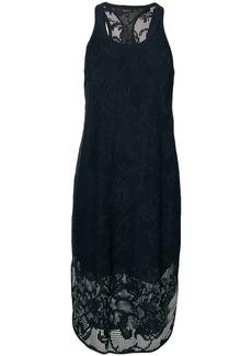 Rag & Bone floral mesh overlay dress