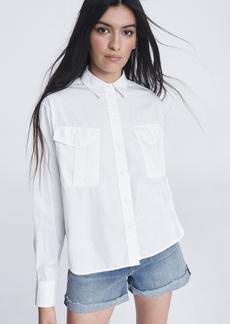 rag & bone Florian Cotton Silk Shirt