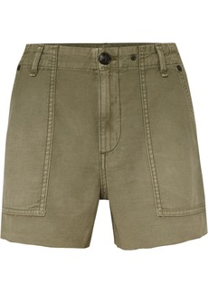 Rag & Bone Frayed Cotton Shorts