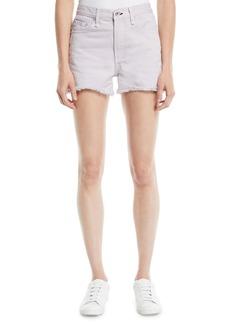 Rag & Bone Frayed Mid-Rise Cutoff Shorts