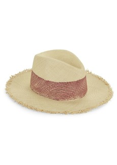 rag & bone Frayed Panama Straw Hat
