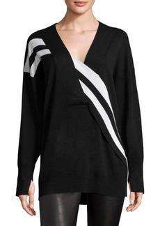 Rag & Bone Grace Striped Merino Wool Sweater