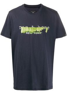 rag & bone graphic print t-shirt